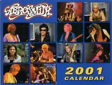 Aerosmith Fan Club 2001 Calendar