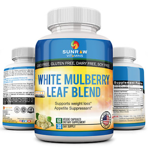 White Mulberry Leaf Extract  supports healthy blood sugar levels