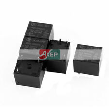 A● 5 Pcs JQC-3FF/024-1HS(511) 4 Pole SPST NO Power Relay 24VDC 125VAC 15A