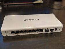 8-Port PoE Gigabit Network Switch Netgear GC110P