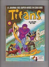 TITANS Album relié 35 (n°103, 104, 105) LUG 1987 - ETAT NEUF. Star Wars
