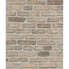 Erismann House Brick Wallpaper Faux Stone Effect Realistic Embossed Roll 6939-20