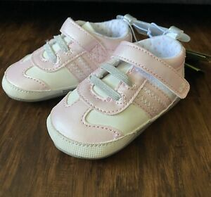 Baby Girls Surprize by Stride Rite Evie Pink Sneakers Shoes 6-12M