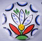 Kosta Boda Art Glass TULIPA Charger by Ulrica Hydman Vallien - Tulip