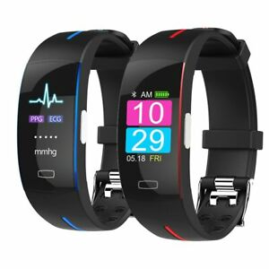 Top Blood Pressure  Watch Wrist Band Fitbit Rate Monitor PPG ECG Bracelet Sport