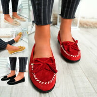 WOMENS LADIES SLIP ON FLAT BALLERINA PUMPS BALLET CASUAL SUMMER SHOES SIZE