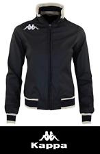 Giubbotto donna Kappa Lady Coach jacket  nero Tg. L  Nuovo spedizione Gratis