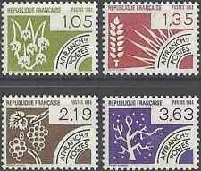 Timbres France préoblitérés 178/81 ** lot 6960