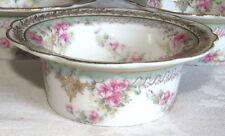 Higgins & Seiter NY P H Leonard Vienna Austria Pink Roses Ramekin