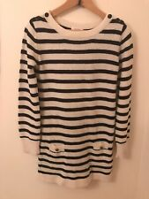 Sessun Stripe Jumper Dress Size S