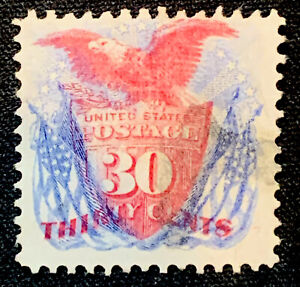 US Stamp Scott #121 W/ Cert Lightly Used Great Centering And Color