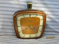 Vintage 1960's DUGENA Chiming Wall Clock. Made in Germany