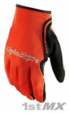 Troy Lee Designs TLD Guantes de Carreras Motocross MX XC Flo Naranja Adulto XXLarge