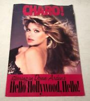 VTG BALLY'S RENO SHOW PROGRAM DONN ARDEN'S HELLO HOLLYWOOD HELLO STARRING CHARO