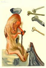 Salvador Dali, Divine Comedy, Inferno / Hell Canto 20 (18): The Fraudulent Ones
