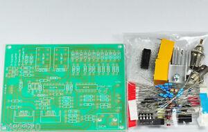 Transistor Curve Tracer adapter XY Oscilloscopes 2 ranges Bias Unassembled kit