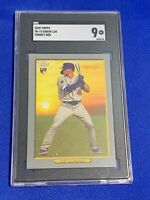 2020 Topps Turkey Red Gavin Lux Los Angeles Dodgers RC #TR-73 SGC 9 MINT Rookie