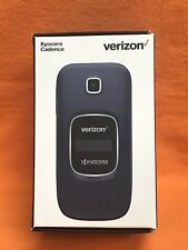*NEW* VERIZON / PAGE PLUS, KYOCERA S2720 CADENCE 16GB FLIP CELLPHONE 4G LTE BLUE