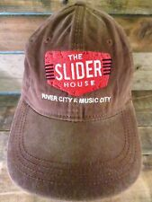 THE SLIDER HOUSE River City & Music City Restaurant Adjustable Adult Hat Cap