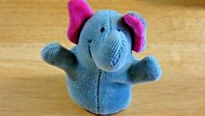 Noe Elephant Finger Puppet Made in Czech Republic