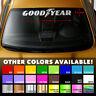 """GOODYEAR TIRES Windshield Banner Vinyl Decal Sticker 32x6"""""""