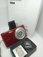 Sony Cyber-shot DSC-W620 14.1MP MegaPixel Cybershot Digital Camera - Red - 14MP