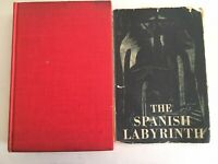SPANISH CIVIL WAR ~ THE SPANISH LABYRINTH by GERALD BRENAN hardcover 1943