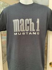 MUSTANG MACH 1 T-SHIRT BLACK MACH ONE FORD 1969-1978 2003 2004 2021 1970