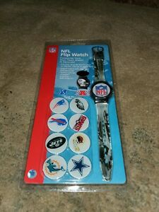VERY RARE NFL Flip Watch CUSTOMIZE YOUR OWN TEAM IN SECONDS!
