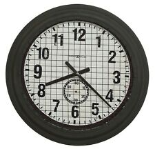 HOWARD MILLER - 625-625 GALLERY GRID IRON  WORKS  WALL CLOCK   625625
