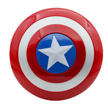 Captain America Shield Flash Light Voice Kids Gift Party Cosplay 32 cm Costumes