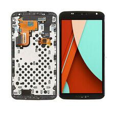 For Motorola Google Nexus 6 XT1100 XT1103 LCD Touch Screen Digitizer Frame QC