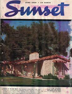 1939 Sunset June - Houses in San Marino, Palo Alto and Orinda CA; Ropes