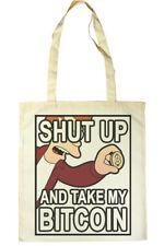 Bitcoin Tote Shopper Bag