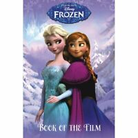 DISNEY FROZEN ANNA ELSA OLAF Book of the Film Paperback NEW