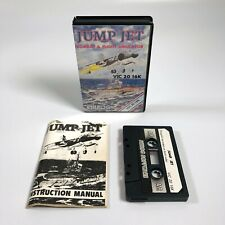 JUMP JET Game by Anirog - Commodore VIC-20 Cassette - COMPLETE & BOXED