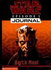 Darth Maul (Star Wars Episode 1, Journal #3) by Blundell, Judy