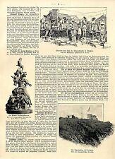 In dem Schutzgebiet Kiautschau wurde eine Eingeborenen-Truppe aufgestellt c.1900