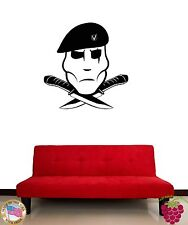 Wall Stickers Vinyl Decal Military War Special Forces Dagger z1182