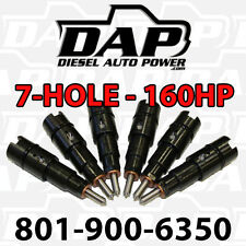 +160HP Performance Injectors for Dodge Diesel Cummins RAM Cummins 24v 150 Jammer