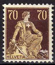 Switzerland 1907 YV 125  MNH  VF