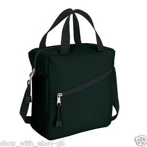 KOOZIE™ Quality Black Cool Cooler Bag Lunch Dinner Food Drinks 5 Litre Carry UK