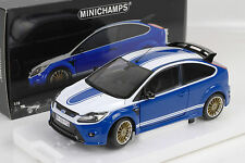Ford Focus RS 2010 Le Mans Classic Edition Blue 1972 Ford Capri 1:18 Minichamps