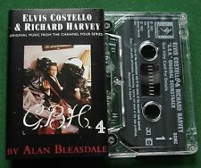 GBH OST Channel 4 Series Elvis Costello Richard Harvey Cassette Tape - TESTED