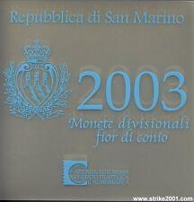 Euro SAN MARINO 2003 in Folder Ufficiale