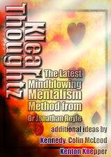 David berglas Effect ACAAN Mentalism Psychique Carte Tour de Magie Hypnose PNL