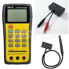 DER EE DE-5000 High Accuracy Handheld LCR Meter TL-21 TL-22 From Japan F/S