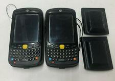 Lot Of 2 Mc55a0 P20swqqa7wr Motorola Zebra Symbol Mobile Barcode Scanners