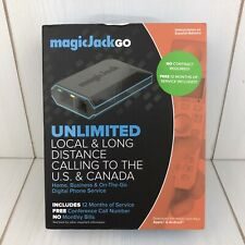 MagicJack Go Digital Phone Service Unlimited Local & Long Distance US-Canada New