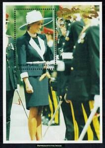 ROYALTY PRINCESS DIANA ELEGANT & STYLISH 1998 SHEET MNH